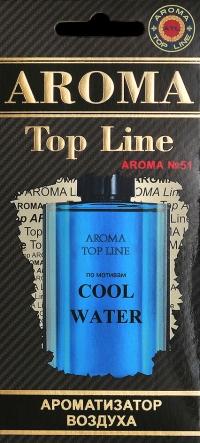 Ароматизатор №51 по мотивам Davidoff Cool Water