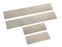 Накладки на пороги из нержав. стали для Kia Ceed с 2013 г.в.