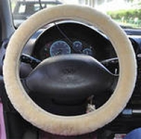 Оплетка на руль меховая