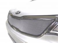 Защитная сетка радиатора для Kia Rio 2015-2017 г.в.  верхняя